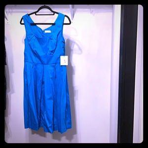 Turquoise CK dress